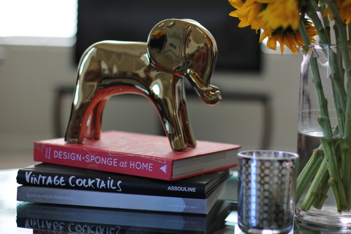 Furbish Studio gold elephant