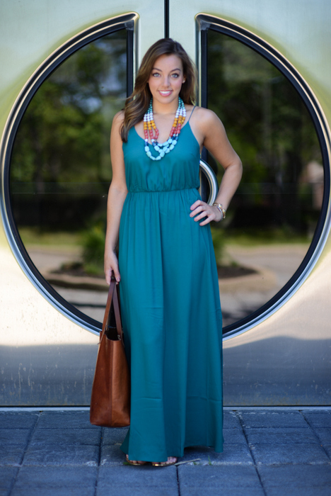 Sharing My Sole - Maxi Dress