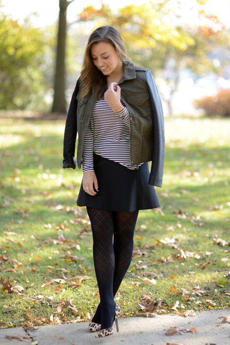 Sharing My Sole - Tights & Stripes