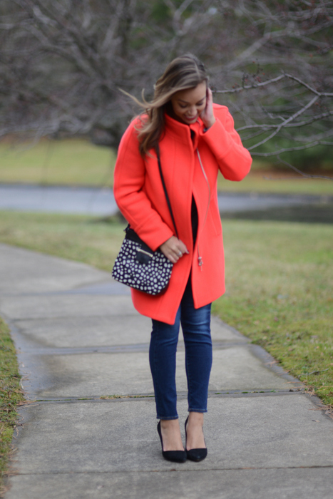 Jcrew stadium cloth coat